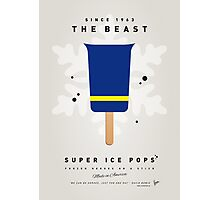 My SUPERHERO ICE POP - The Beast Photographic Print