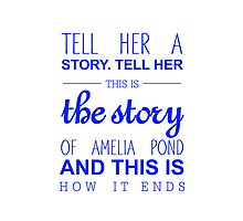 The story of Amelia Pond by NatalieMirosch