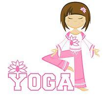 Yoga Girl by MurphyCreative