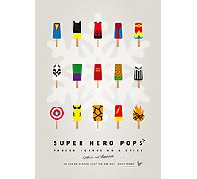 My SUPER ICE POP - Univers Photographic Print