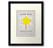 My NINTENDO ICE POP - Super Star Framed Print