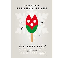 My NINTENDO ICE POP - Piranha Plant Photographic Print