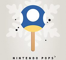My NINTENDO ICE POP - Mini Mushroom by Chungkong
