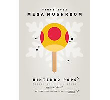 My NINTENDO ICE POP - Mega Mushroom Photographic Print