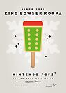 My NINTENDO ICE POP - King Bowser by Chungkong