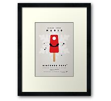 My NINTENDO ICE POP - Mario Framed Print