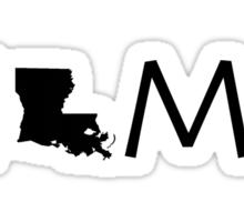 LOUISIANA HOME Sticker