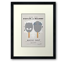 My MUPPET ICE POP - Statler and Waldorf Framed Print