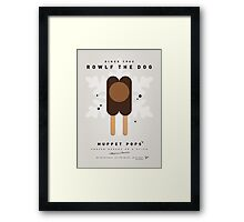 My MUPPET ICE POP - Rowlf Framed Print