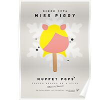 My MUPPET ICE POP - Miss Piggy Poster