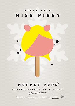 My MUPPET ICE POP - Miss Piggy by Chungkong