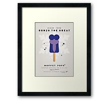 My MUPPET ICE POP - Gonzo Framed Print