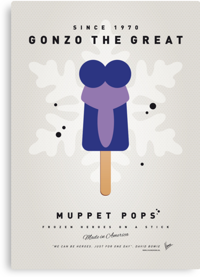 My MUPPET ICE POP - Gonzo by Chungkong