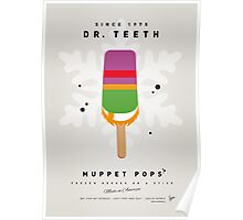 My MUPPET ICE POP - Dr Teeth Poster