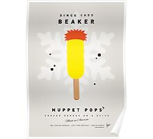 My MUPPET ICE POP - Beaker Poster