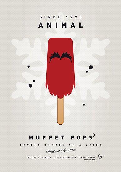 My MUPPET ICE POP - Animal by Chungkong