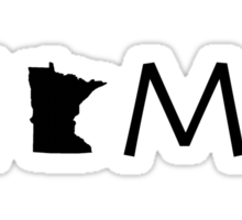 MINNESOTA HOME Sticker
