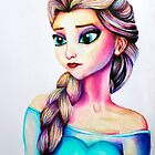 Elsa from Frozen by weronikart