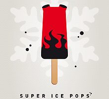 My SUPERHERO ICE POP - Hellboy by Chungkong