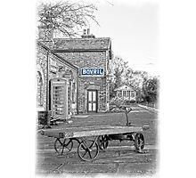Hadlow Blue Photographic Print