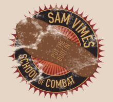 Sam Vimes School of Combat - distressed by christymcnutt