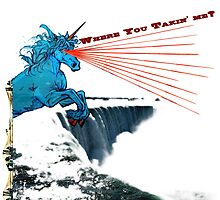 Where You Takin' Me - Laser Unicorn visits Niagara Falls by Zachary Pryor