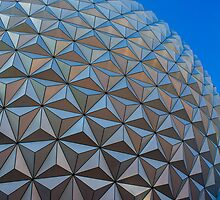Epcot Ball by Kevork Afarian Photography