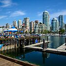 Vancouver Skyline  by Chris  Randall