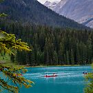 Emerald Lake in Yoho National Park by Chris  Randall