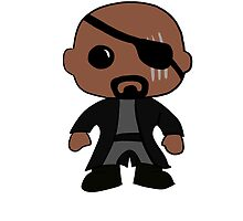 Nick Fury by rwang