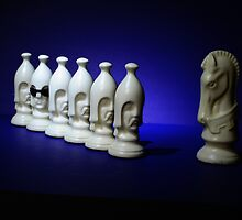 Chess Pieces - (it's ok to be different) - by Schoolhouse62