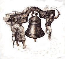 """The Bell (Gift&Onus)""  by Sergei Rukavishnikov by Alenka Co"