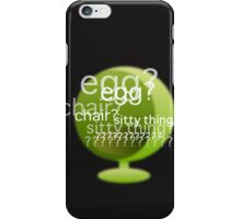 Sitty Thing? iPhone Case/Skin