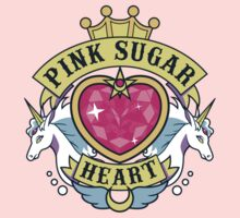 Pink Sugar Heart by JollyNihilist