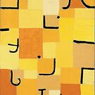 Paul Klee - Signs In Yellow by TilenHrovatic