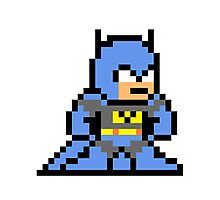 8-bit Batman Photographic Print