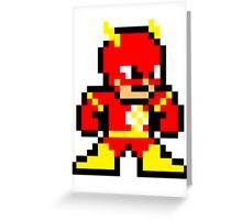 8-bit Flash Greeting Card