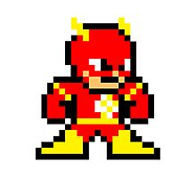 8-bit Flash Photographic Print