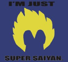 Just Super Saiyan. by MiniTwix
