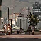 Cape Town CBD from the Waterfront by awefaul