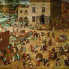 Pieter Bruegel the Elder - Children's Games by TilenHrovatic