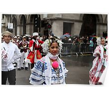 New Year's Day Parade  London 2014 Poster