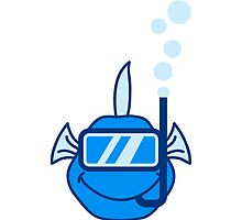 Snorkeling Fish by Style-O-Mat