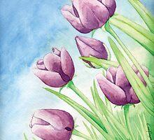 Tulips by ekprazan