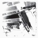 Tapes #2 (Black & White) by Jarrod Knight