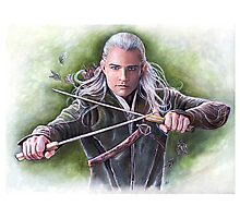 Prince of Mirkwood Photographic Print