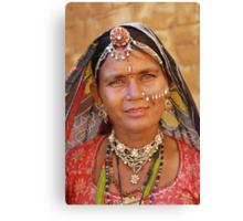 Rajasthani Beauty Canvas Print