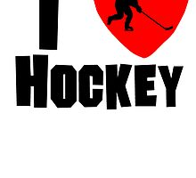 I Heart Hockey by kwg2200