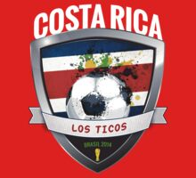 Costa Rica - World Cup Brasil 2014 Collection by idandesign