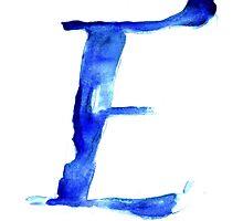 Alphabet E by bridgetdav